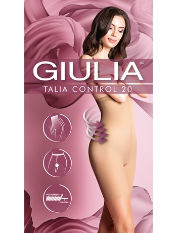 Giulia Talia Control 20 figurformende Feinstrumpfhose