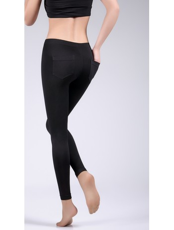 Giulia Leggy Go Up #2 figurformende Leggings nero