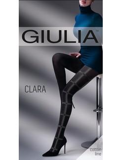 Giulia Clara #1 gemusterte Baumwollstrumpfhose