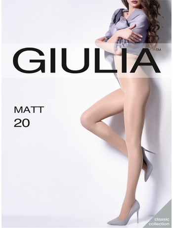 Giulia Matt 20 durchgehend transparente Strumpfhose