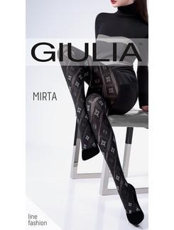 Giulia Mirta 100 #3 Gemusterte Strumpfhose mit Durchbruchoptik