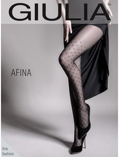 Giulia Afina 40 #1 geometrisch gemusterte Strumpfhose