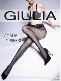 Giulia Amalia Impresso 40 fein gepunktete Strumpfhose