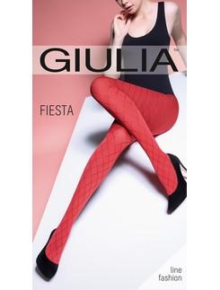 Giulia Fiesta 100 #2 gemusterte Strumpfhose