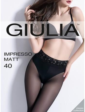 Giulia Impresso Matt 40 Strumpfhose nero