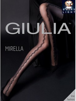 Giulia Mirella 20 #1 Shine Light gemusterte Strumpfhose