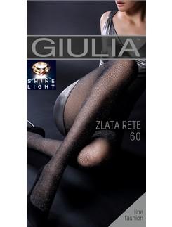 Giulia Zlata Rete 60 #1 Lurex Netzstrumpfhose