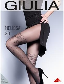 Giulia Melissa 20 #1 Strumpfhose im Halterlos-Design
