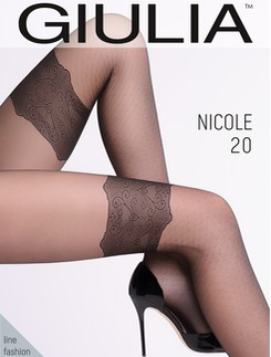 Giulia Nicole 20 #2 Strumpfhose in Halterlosoptik