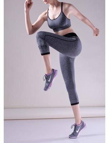 Giulia Capri Sport Melange 01 - Leggings melange
