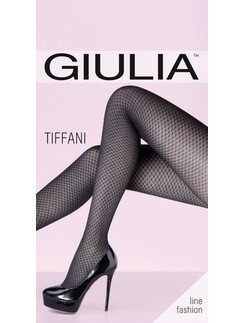Giulia Tiffani 80 #4 gemusterte Strumpfhose