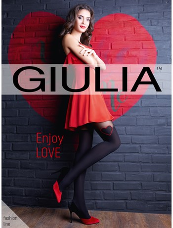Giulia Enjoy LOVE Strumpfhose