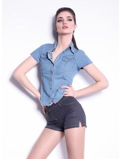 Giulia Shorts mini Jeans Modell 4