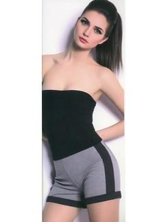 Giulia Shorts Mini Stripe sportlich