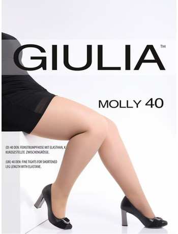 Giulia Molly 40 Feinstrumpfhose Komfortgröße daino
