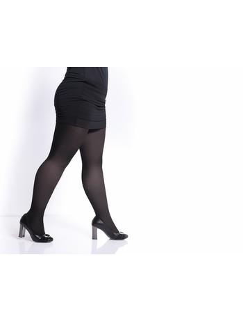 Giulia Molly 200 Baumwollstrumpfhose Komfortgröße nero