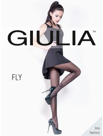 Giulia Fly20 #60 Strumpfhose mit Tatoo, im Nylon und Strumpfhosen Shop