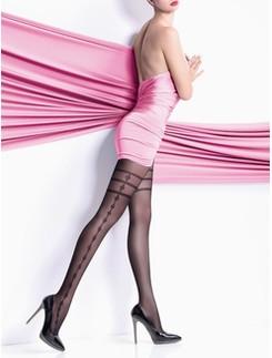 Giulia Elisa 40 #5 Strumpfhose mit Muster seitlich