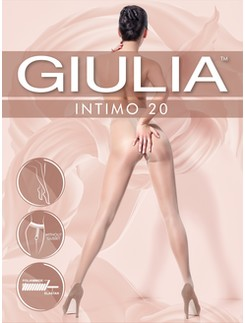 Giulia Intimo 20 Ouvert Strumpfhose