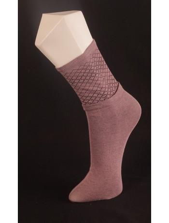Giulia gemusterte Socken lilac