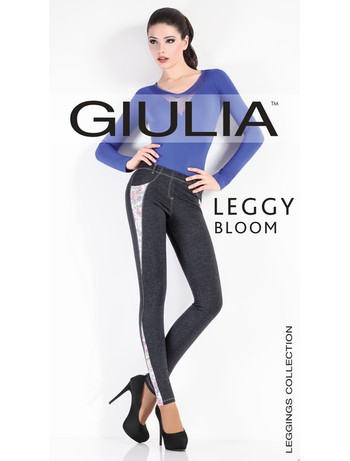 Giulia Leggy Bloom Model 1 Leggings, im Nylon und Strumpfhosen Shop