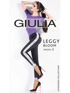 Giulia Leggy Bloom Model #2 - Leggings