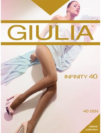 Giulia Inifinty 40 durchgehend unverstaerkte Strumpfhose, im Nylon und Strumpfhosen Shop
