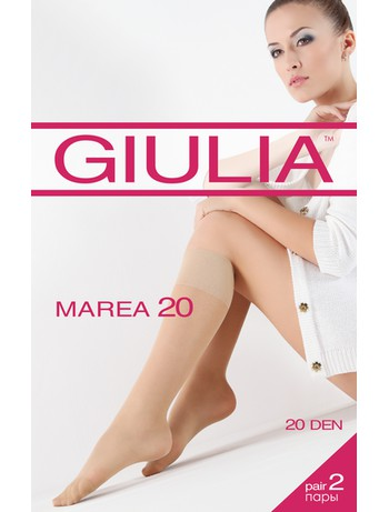 Giulia Marea 20 Feinkniestrümpfe 2er-Pack