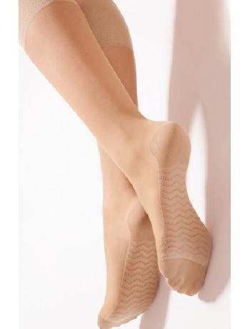Giulia Massage 40 semitransparente Kniestruempfe, im Nylon und Strumpfhosen Shop