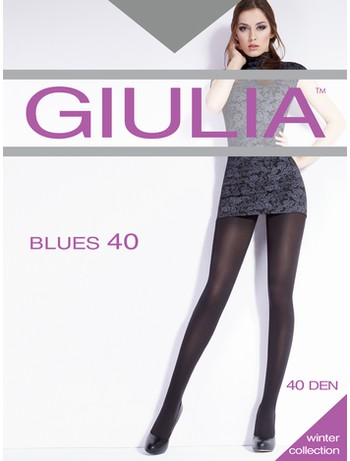 GIULIA BLUES 40 Feinstrumpfhose, im Nylon und Strumpfhosen Shop
