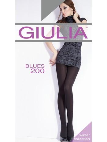 GIULIA BLUES 200 Microfaser Strumpfhose 3D, im Nylon und Strumpfhosen Shop