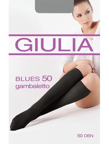 GIULIA Blues 50 Gambaletto belastbare Kniestruempfe - GIULIA Blues 50 Gambaletto im 10er Pack matt blickdichte, belastbare Kniestruempfe mit 3D Elastan und breitem Abschluss sowie dehnbar in alle Richtungen