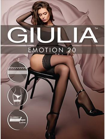 Giulia Emotion 20 halterlose Strümpfe
