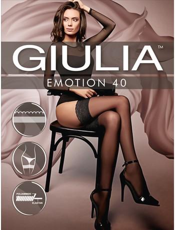 Giulia Emotion 40 halterlose Strümpfe