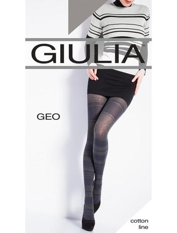 Giulia GEO 200 #2 gemusterte Strumpfhose, im Nylon und Strumpfhosen Shop
