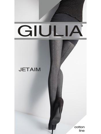 GIULIA JETAIM #1 Fantasie Strumpfhose mit Ruecknaht, im Nylon und Strumpfhosen Shop