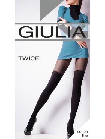Giulia Twice 120 Overknee Strumpfhose, im Nylon und Strumpfhosen Shop