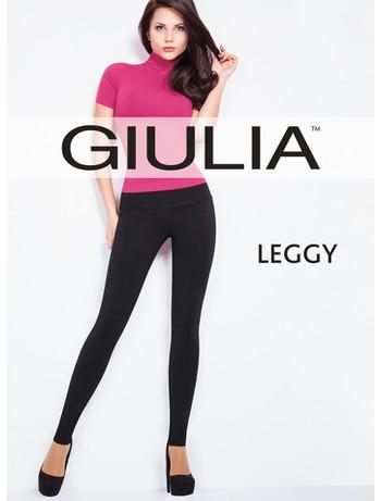 Giulia Leggy Model 1 Leggings mit Naehten und Taschendetails, im Nylon und Strumpfhosen Shop