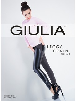 Giulia Leggy Grain Model 3 Lederleggings