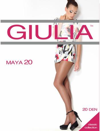 Giulia Maya 20 transparente Strumpfhose