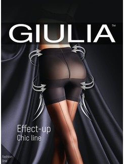 Giulia Effect-Up Chic line figurformende Nahtstrumpfhose