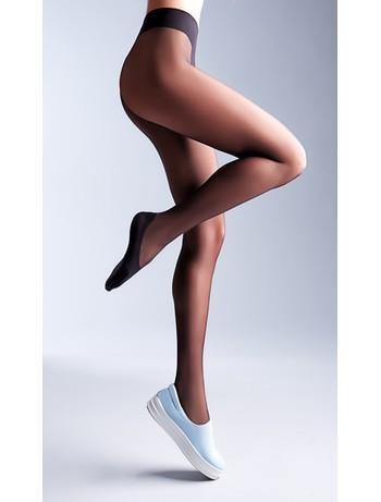Giulia Footies Style 20 Strumpfhose nero