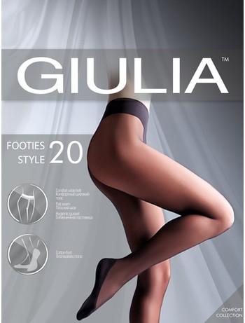Giulia Footies Style 20 Strumpfhose