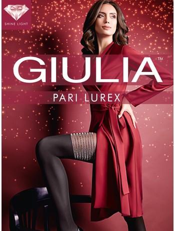 Giulia Pari Lurex M2 Strumpfhose - Goldener Glanz