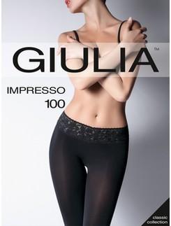 Giulia Impresso 100 Microfaser Hüftstrumpfhose