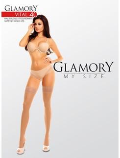 Glamory Vital 40 Support Halterlose Strümpfe