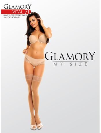 Glamory Vital 70 Support Halterlose Struempfe, im Nylon und Strumpfhosen Shop