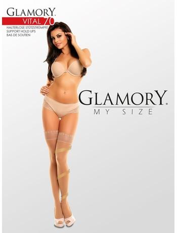 Glamory My Size Vital 70 Support Halterlose Strümpfe