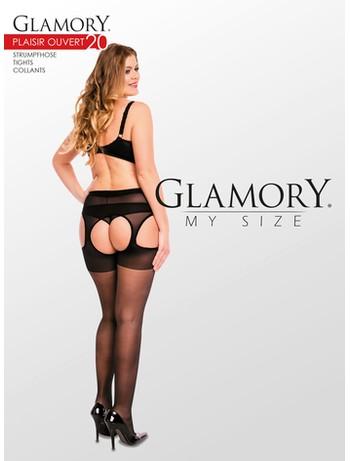 Glamory Plaisir Ouvert 20 Strapsstrumpfhose schwarz