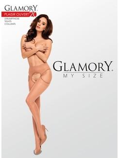 Glamory My Size Plaisir Ouvert 20 Strapsstrumpfhose